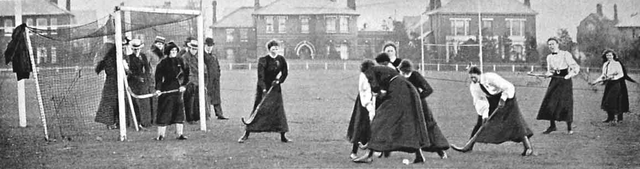 International Ladies Hockey - England vs Wales @ Richmond - 1901