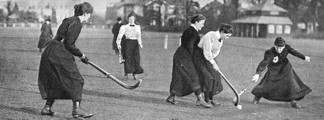 International Ladies Hockey - 1901 - England vs Wales @ Richmond