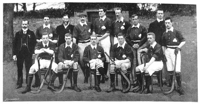 Ireland Field Hockey Team - Irish Men - Dublin - 1901