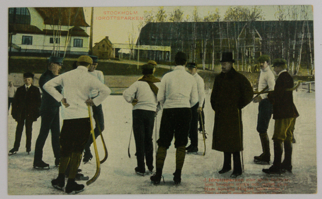 Swedish Bandy - Idrottsparken - Outdoor Rink - Early 1900s