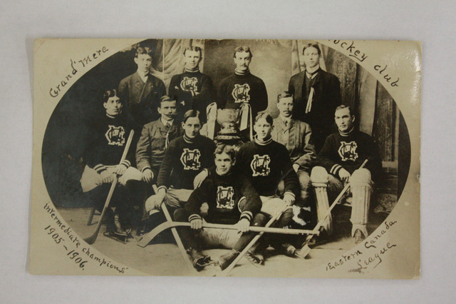 Grand-Mere Hockey Club - East Canada Intermediate Champions 1906