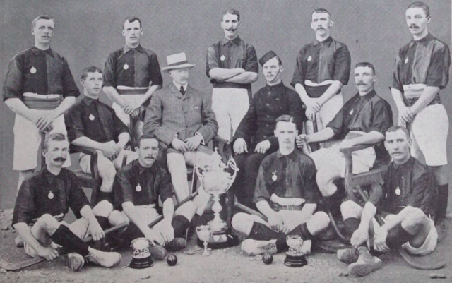 2nd Battalion Kings Royal Rifles Hockey Team - Murree Cup Champions 1904