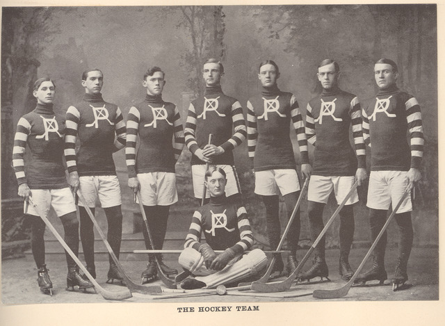 Pennsylvania Military College Ice Hockey Team - 1902