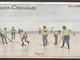 Antique Ice Polo / Eispolo Trade Card - Gartmann-Chocolade  1909