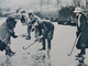 Antique Bandy Ball / Shinty Print - Cane Hockey Sticks - 1919