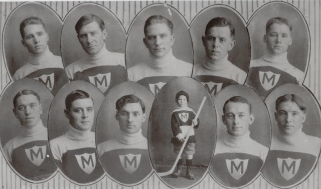 Melville Millionaires - Allan Cup Champions - 1915