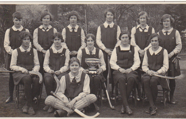 Cambridgeshire Perse School - Field Hockey Champions - 1929