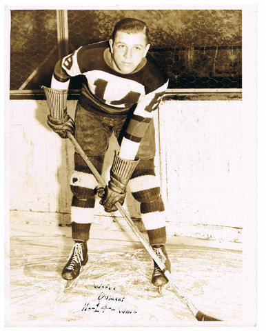 Woody Dumart - Boston Bruins Press Photo - 1930s