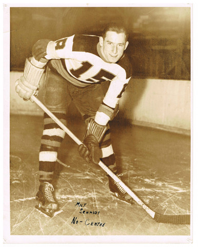 Milt Schmidt - Boston Bruins Press Photo - 1930s