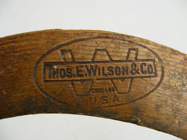Antique Field Hockey Stick Makers Mark Thos E Wilson