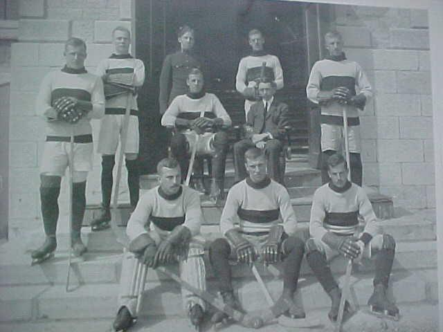 Royal Military College Hockey Team - Champions - 1913