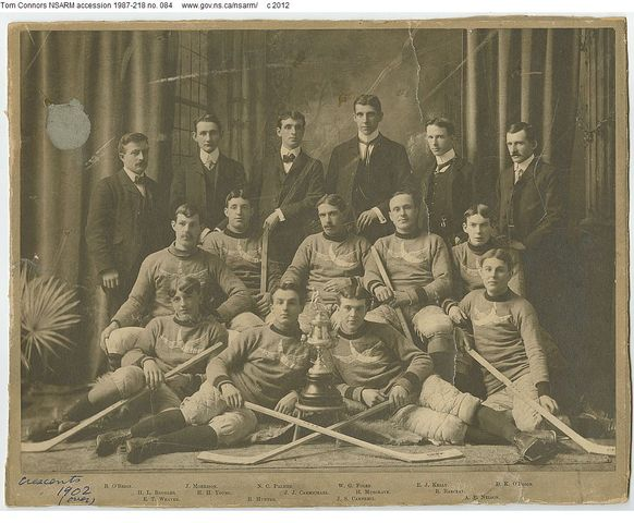 Halifax Crescents - Ice Hockey Champions - 1902
