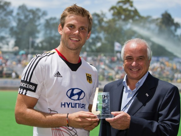 Moritz Fürste - FIH Player of the Year - 2012
