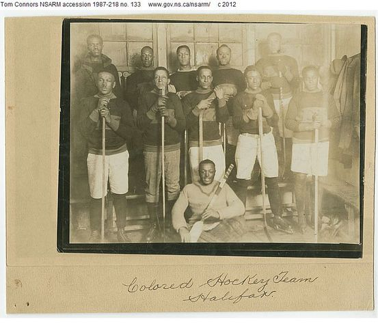 Africville Sea-Sides - Colored Hockey League - Nova Scotia 1920s