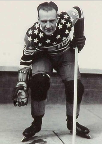 Bullet Joe Simpson - New York Americans - NHL