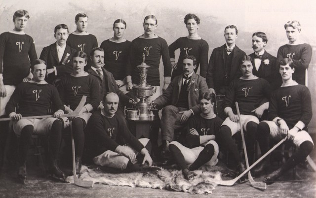 Montreal Victorias - Stanley Cup Champions - 1896 - December