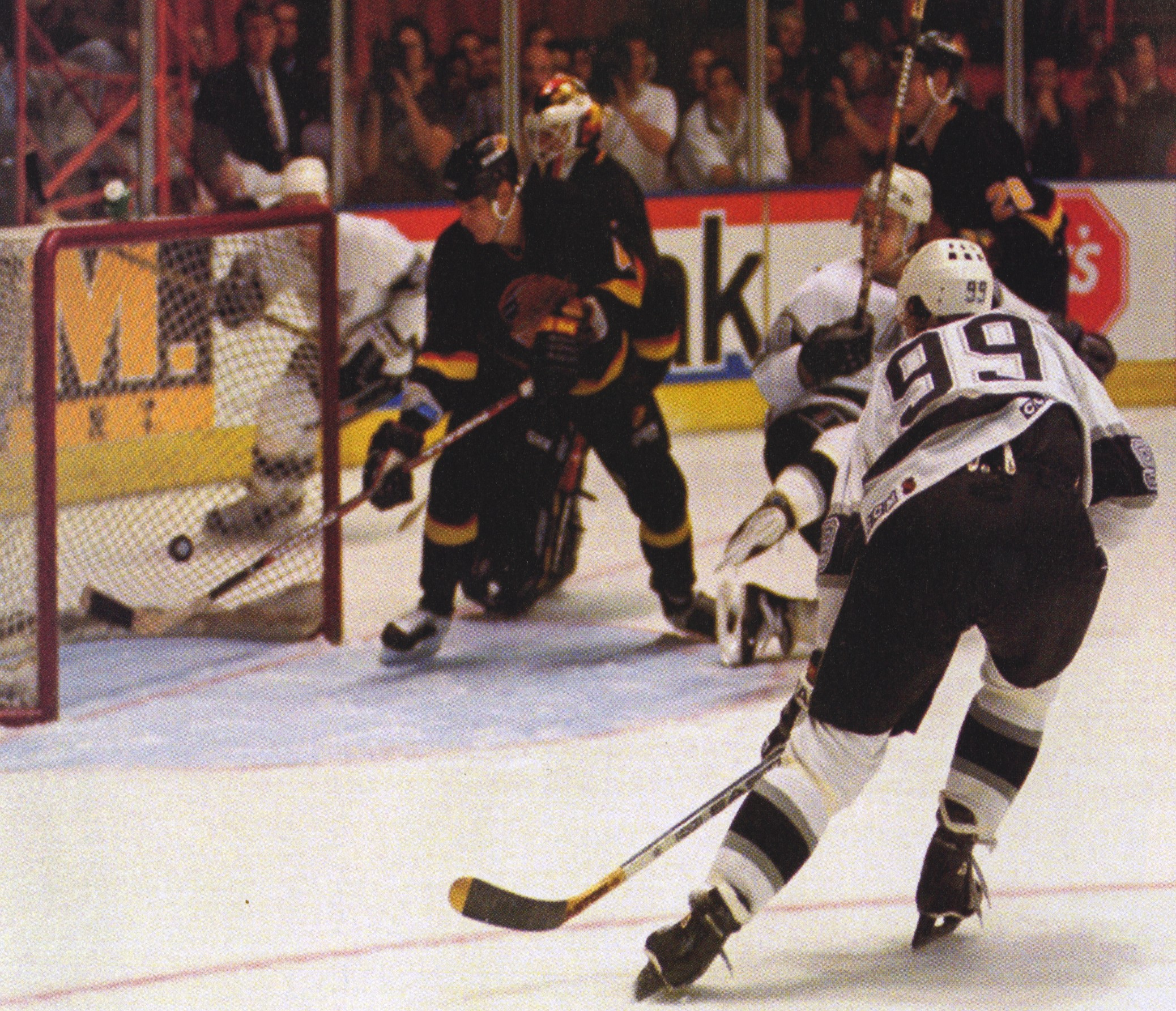 Wayne Gretzky - Los Angeles Kings - 802 Goal - NHL Record ...