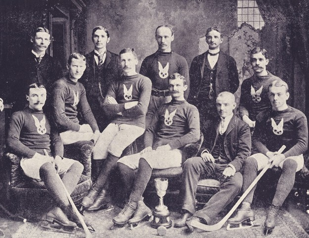 Montreal Hockey Club - Montreal AAA - 1892
