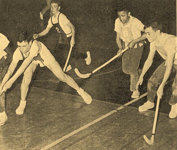 Cosom Hockey / Floorball Game - 1964