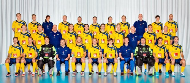 Team Sweden - Floorball - 2012