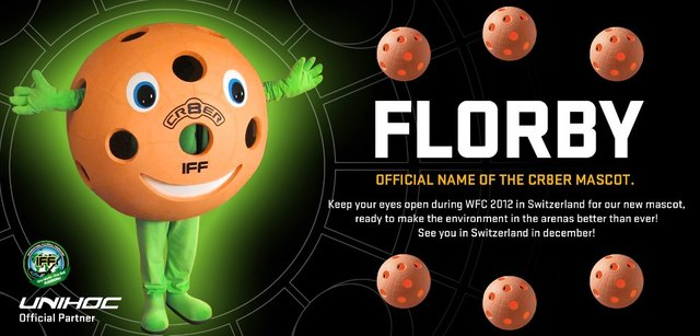 Florby - Mascot for the World Floorball Champiuonships - 2012