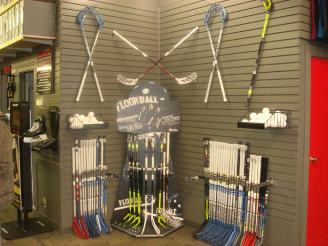 Floorball Display