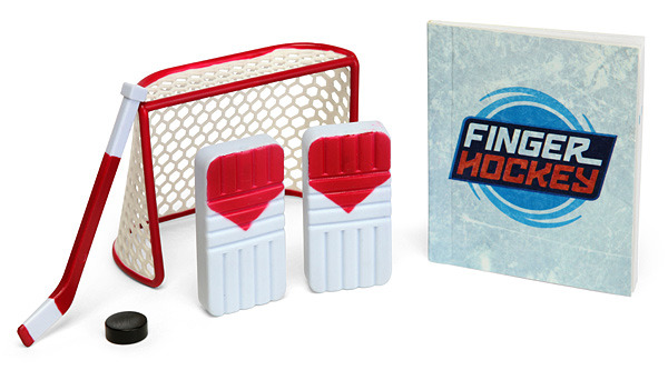 Finger Hockey Game - Display