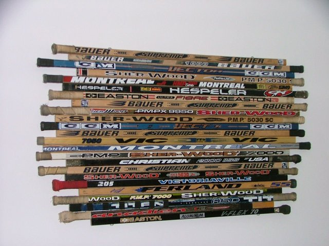 Ice Hockey Stick Wall Art Or A Headboard Hockeygods