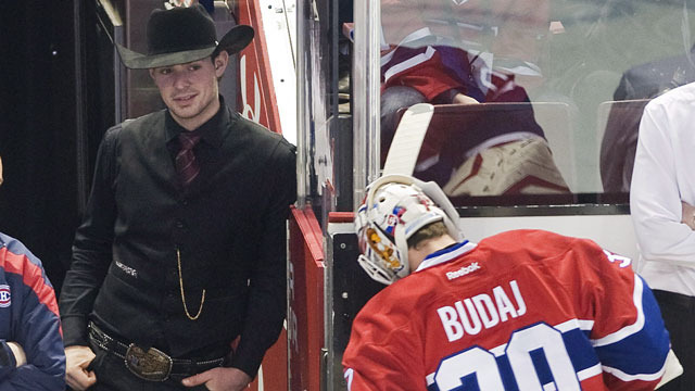 Carey Price - Cowboy Style - Molson Cup Winner - 2012