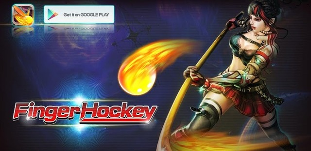 Finger Hockey v1.0 Apk - Android Game - 2012