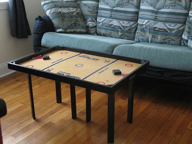 Nok Hockey Sofa Coffee Table Hockeygods