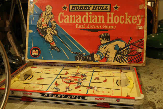 Bobby Hull - Table Top Hockey Game - Vintage - Munro