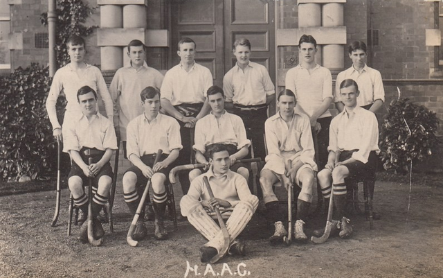 Harper Adams Agricultural College - Shropshire Hockey Team 1900s