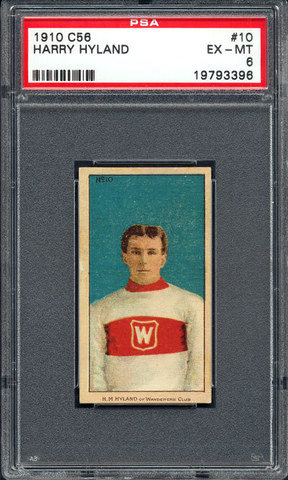 Harry Hyland - C56 - Imperial Tobacco Hockey Card - No10 - 1910