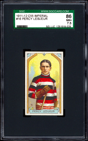 Percy LeSueur - C55 - Imperial Tobacco Hockey Card - 1911