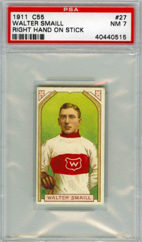 Walter Smaill - C55 - Imperial Tobacco Hockey Card - 1911