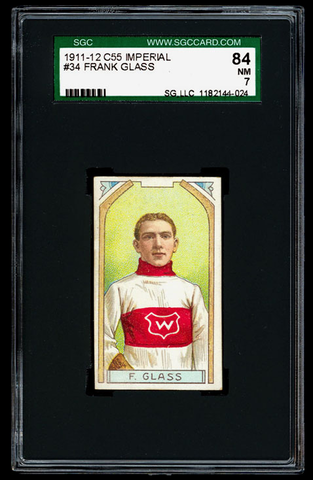 Frank Glass - C55 - Imperial Tobacco Hockey Card - 1911