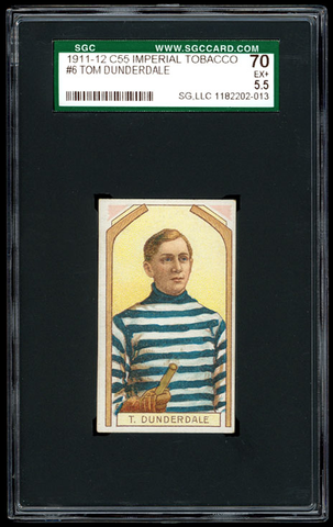 Tommy Dunderdale - C55 - Imperial Tobacco Hockey Card - 1911