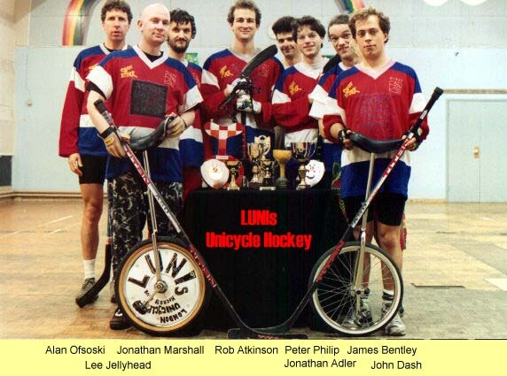 The LUNIs Unicycle Hockey Team - London - England