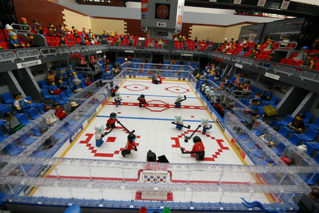 Lego Hockey Arena - Oilers vs Flames