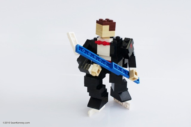 Lego Hockey Player - Hockey Groom - 2010